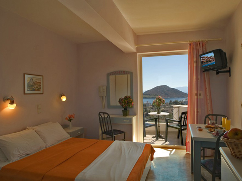 tolo accommodation greece - Panorama hotel